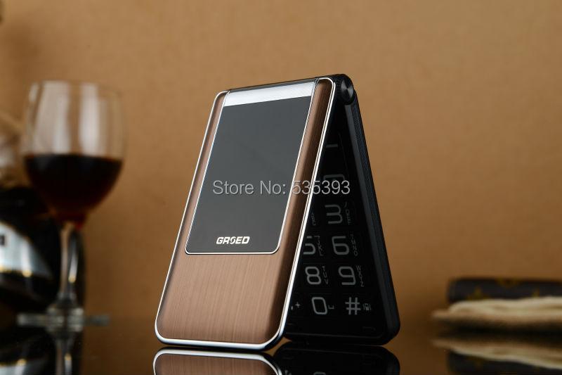 2015 Cheapest flip phone old man senior cellphones mobile phone Touch Screen GSM Loud Speaker Russian Arabic keyboard 2 Dual SIM(China (Mainland))