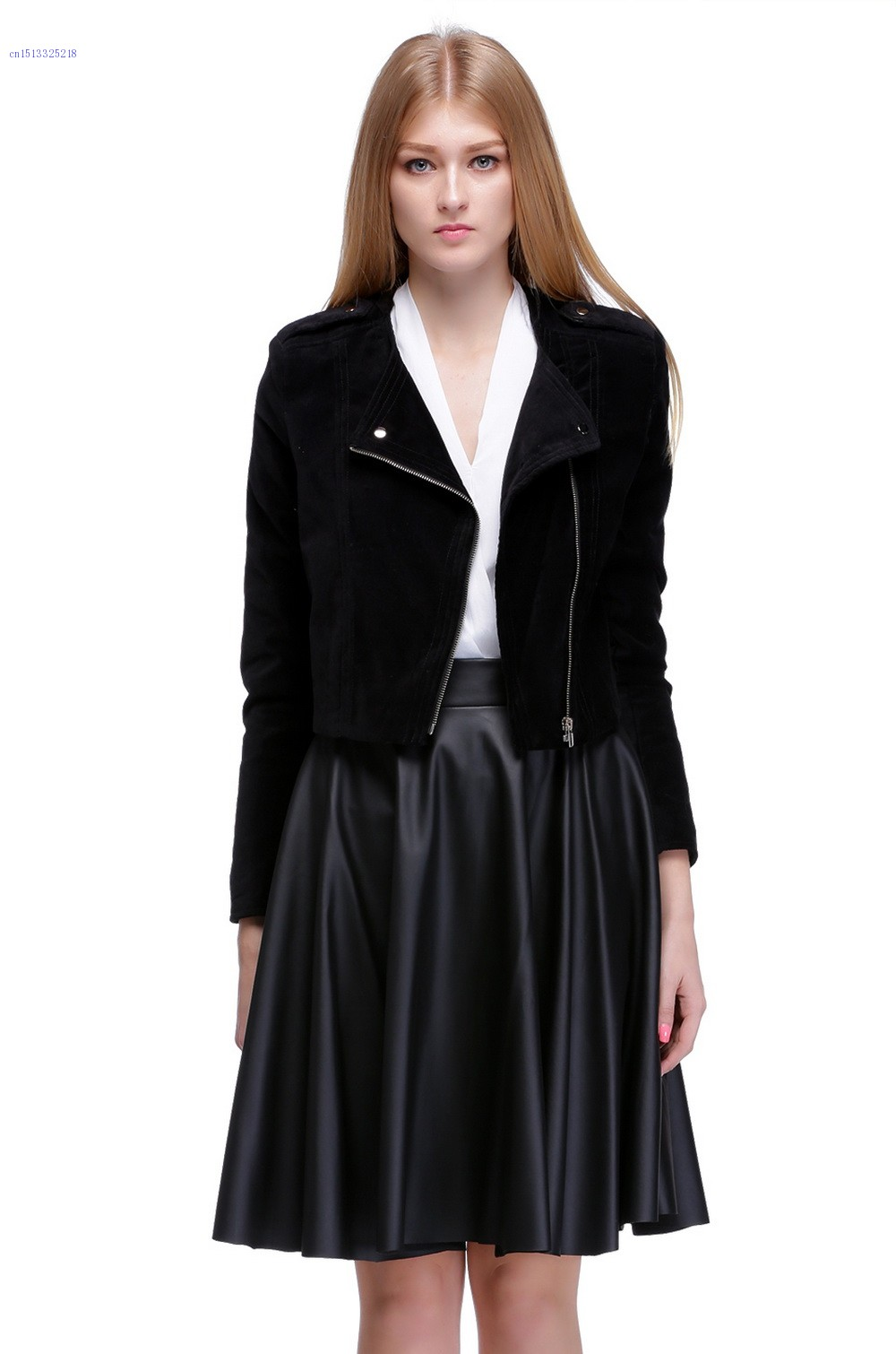 Hot Sale ! 2015 Women Ladies Jacket Spring Sexy Short Casual Suits Jacket Outerwear 30(China (Mainland))