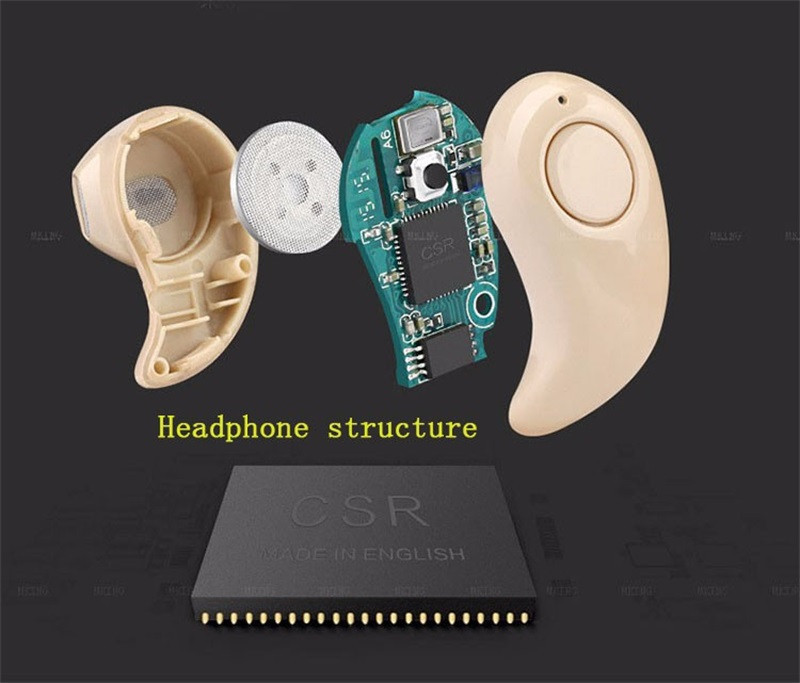 Mini Bluetooth Headphones Earphone 530 In Ear Earbuds Wireless Stereo Headset Universal Fone De Ouvido for IPhone Xiaomi Huawei