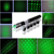 ( 013 ) long-range 1000 meters 5 in 1  100mw green light laser pointer pens, green laser command pen