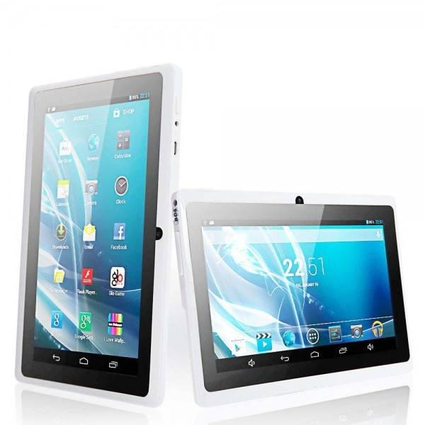 "7"" Tablet PC A33 Android 4.2 Quad Core 1.5GHz Wi-Fi 1GB 16GB Bluetooth Tablet PC IM White(China (Mainland))"