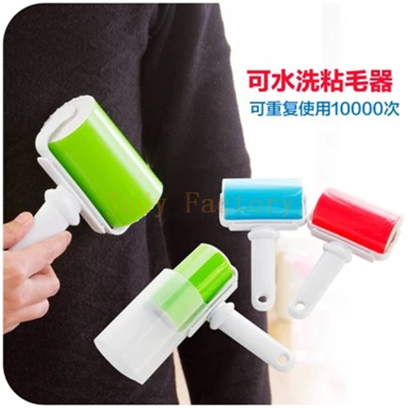 1PCS Large Size Reusable Rolling Sticker Lint Remover Shaver Washable Dust Brush Roller Free Shipping(China (Mainland))