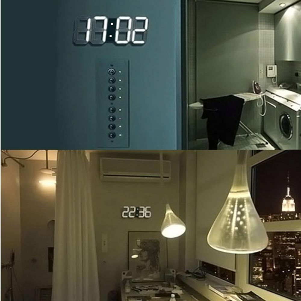 Horloge En Bois - Horloge Thermometre Digital Design Blanc Opio ...