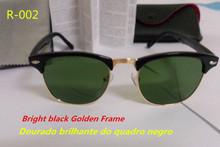 High Quality ray Clubmaster Sunglasses 3016 Men Sun Glasses Brand Women Retro Round Sunglass Gafas De