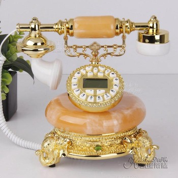 New arrival callerid reported number adjust antique telephone fashion vintage telephone