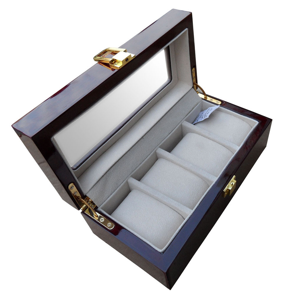 Wooden Watch Display Box Wooden Watch Display Box/