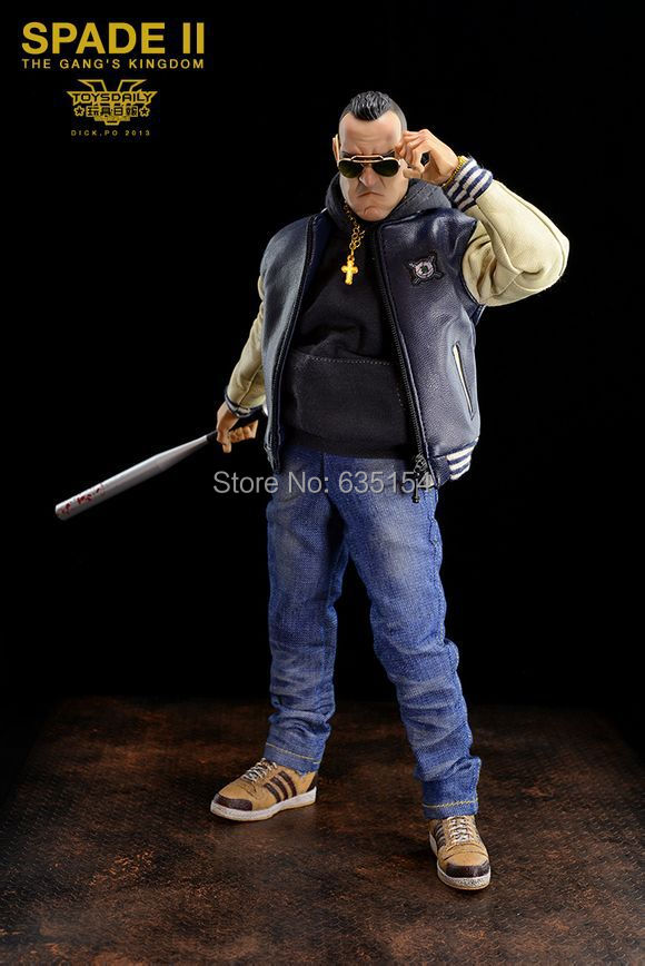 Brand New 1/6 Scale The Gang's Kingdom Spade 2 Nelson 12'' PVC Cool Cartoon Action Figure Model Toy For Collection/Gift(China (Mainland))