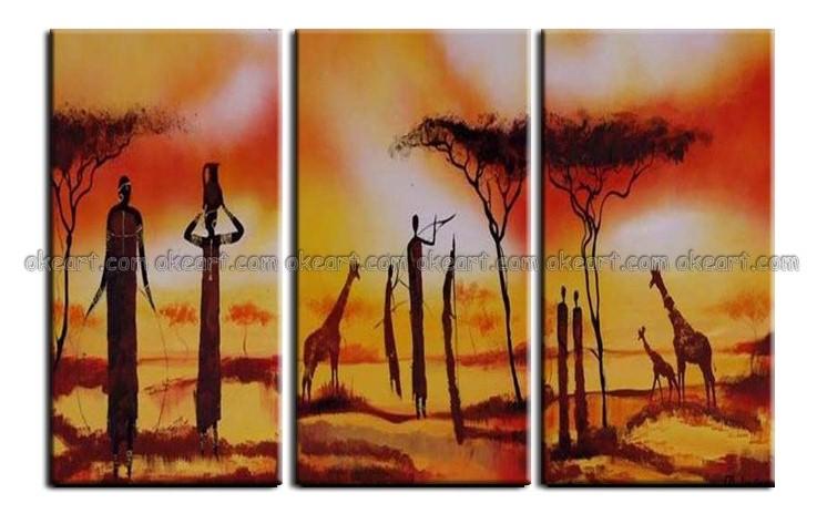 100% peint à la main Sable s'envolent à l'intégration ciel terre le travail toujours là livraison gratuite décoration art peintures à l'huile(China (Mainland))