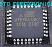 ATMEGA168-20AU  ATMEL 8-bit Microcontroller with 8K Bytes In-System Programmable Flash