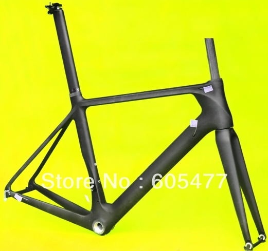 FR315 Full Carbon matt Matte road bike bicycle frameset BB30 Frame + fork + seatpost + clamp + headset(China (Mainland))