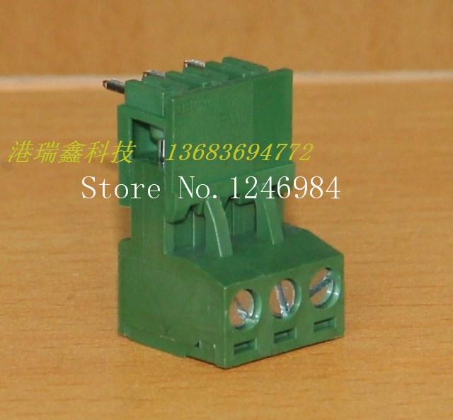 [SA]DECA Taiwan Progressive Alliance 5.08MM curved foot three green terminal blocks MC100 + ME010--50pcs/lot<br><br>Aliexpress