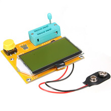 New DIY Electric Unit High quality Diode Triode Capacitance ESR Meter MOS PNP For LCR For T3 Transistor Tester LCD Display(China (Mainland))