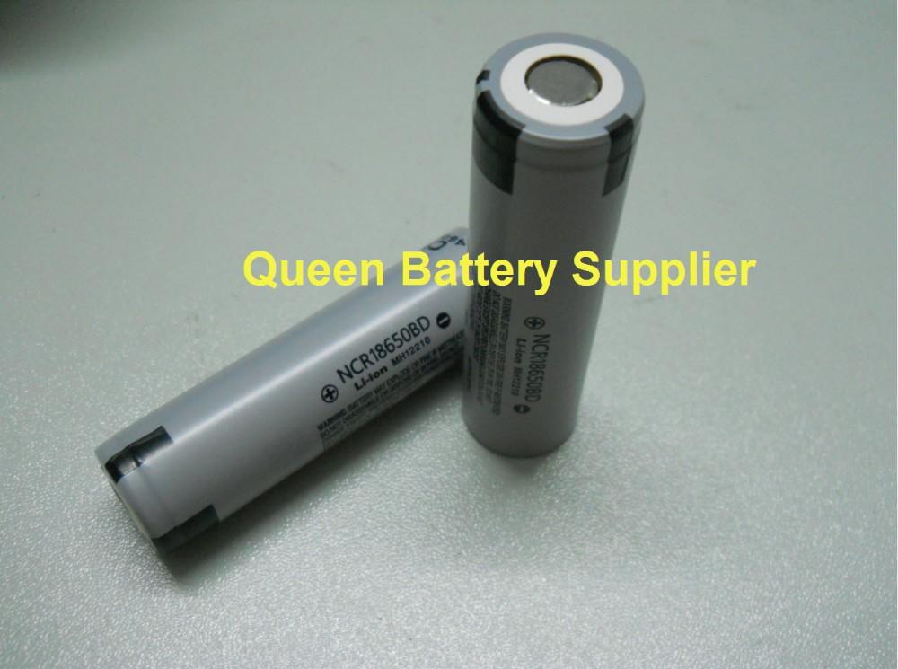 ถูก จัดส่งฟรีเดิม18650 3.7โวลต์3200มิลลิแอมป์ชั่วโมงแบตเตอรี่แบตเตอรี่แบบชาร์จไฟNCR18650BD, 10Aสำหรับบุหรี่อิเล็กทรอนิกส์