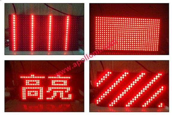 P10 red led modules(China (Mainland))