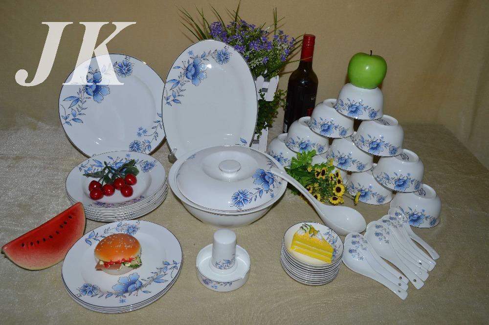 Corelle d finit gros os en c ramique porcelaine vaisselle de porcelaine ensemble de 46 pcs china - Grossiste en vaisselle de table ...