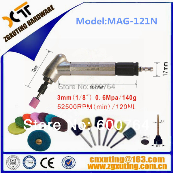 MAG-121N 52500rpm 0.6mpa portable micro pneumatic grinding tools air die grinder(China (Mainland))
