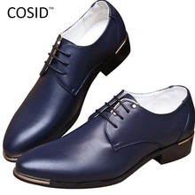 2015 Fashion High Quality Genuine Pointed Leather Men Oxfords Lace-Up Business Men Shoes Men Dress Shoes Leather Shoes BRM-423