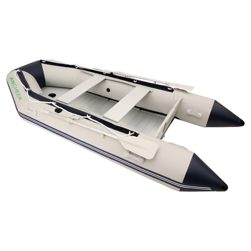 Ancheer 0.9 mm PVC Inflatable Boat 3.3 m 4-5 person Heavy-duty Sport Fishing Rescue Dinghy Boat Yacht Tender Raft(China (Mainland))