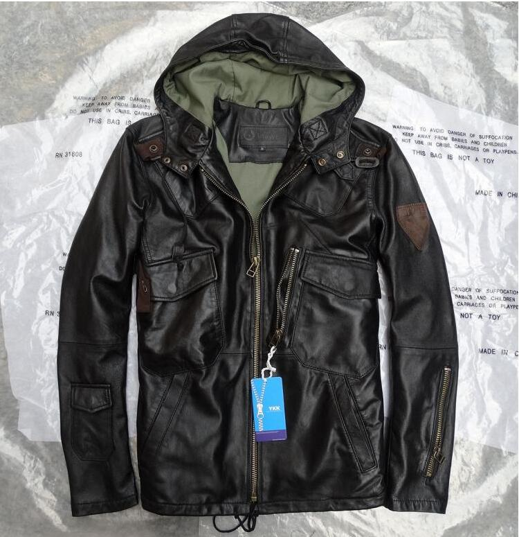 Popular Mens Green Leather Jackets-Buy Cheap Mens Green Leather ...