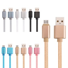 Buy Free 1000pcs/lot 1m 2m 3m Thick micro v8 fabric braided usb data charger cable cord line samsung htc lg android mobile phone for $600.00 in AliExpress store