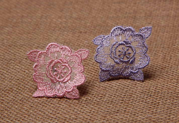 Wholesale 4 cm embroidered flower patches,flower decals,DIY paste,scrapbooking sewing flower,Cloth Applique flower