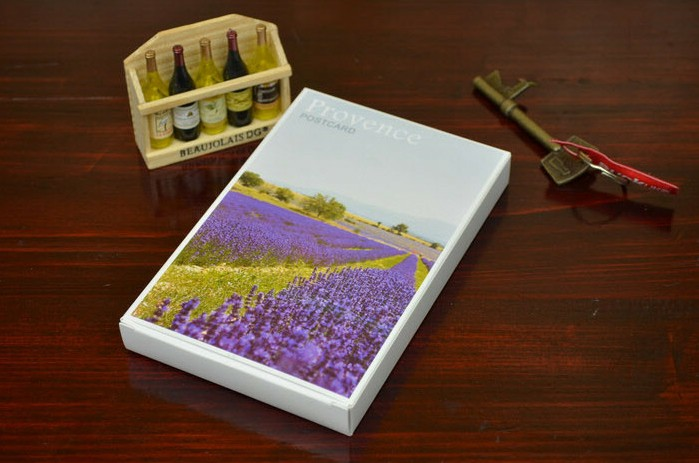 Over 35 yuan shipping cards postcards French lavender Postcard 30 boxed in(China (Mainland))