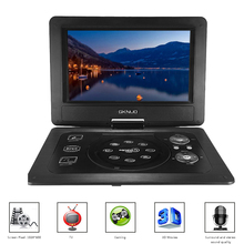 GKN-101 10.1Inches Portable DVD Player Portatil 16:9 TFT Screen Pixe 1024 * 600 SD/USB/AV for Gamepad TV DVD/CD/MP3 US/EU Plug(China (Mainland))