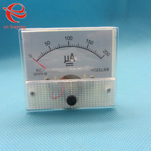 Buy 2pcs/lot DC 200UA AMP Analog Current Panel Meters Ammeter Amperimetro Ampere Frequency Meter Measurer 0-200UA for $6.36 in AliExpress store