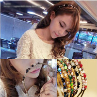 Top Sell KS Style Rim Hair Band For Women Girls Rhinestone Crystal Hairband Delicate Glitter Hair Accessorie 7 Colors   A9R12C