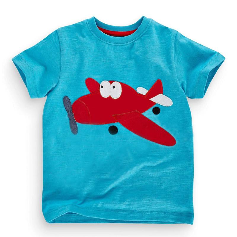 Cute 18 Months-6T Three Style Baby Boys Girls T-Shirt Summer Children's Clothing Kids Tops 100% Cotton Cartoon Boy Girl T Shirt(China (Mainland))