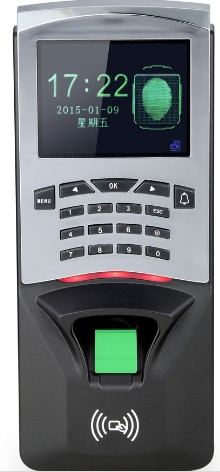 F807 tcp/ip fingerprint access control and time attendance door control home security system