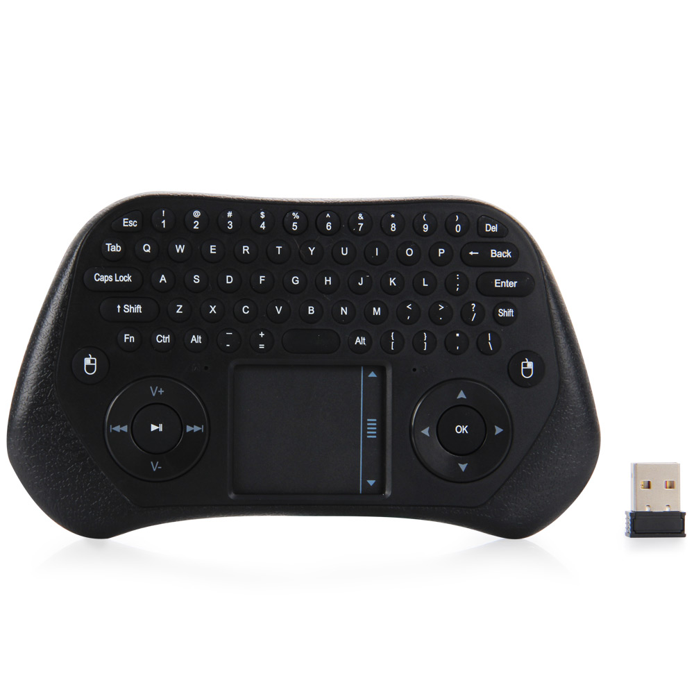 MEASY GP800 2.4GHz Wireless Touchpad Keyboard Air Mouse Remote Controller for PC Laptop Projector with USB Receiver for PC(China (Mainland))