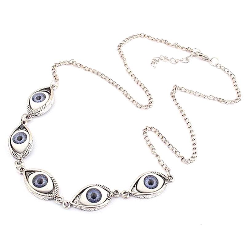 2015 специальный мода женщин мода преувеличены аксессуары волшебный глаз себе ожерелье новое поступление длинный свитер цепи N183