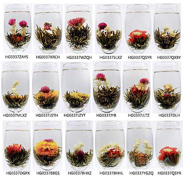 Jasmine Chinese Ball Handmade Blooming Flower Herbal Tea Drinking Gift Green Healthy Tea