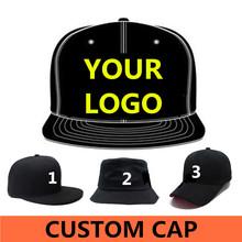 Wholesale 500 pcs Adult Customized Baseball caps LOGO Embroidery snapback cap Customized hats ship Via DHL, FEDEX,UPS(China (Mainland))