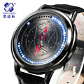 Xingyunshi Anime LED Touch Screen Stunning Waterproof Watch Men Luminous Digital Watches Clock Wrist Men s