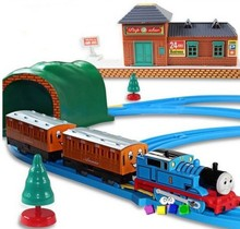 Thomas And Friends Electric Thomas Trains Set With Rail For Children Kid Boy Model Toy
