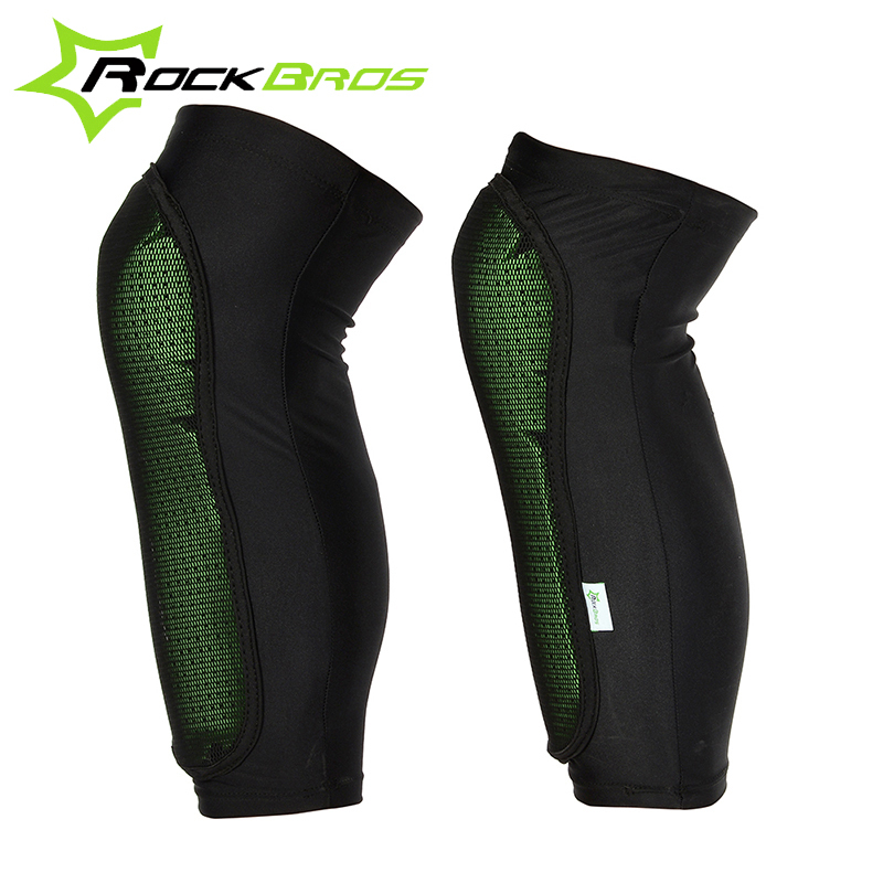 ROCKBROS Professional Soft Flexible Adjustable Knee Pads Protector Knees for bike Outdoor Sports Bicycle Accessories(China (Mainland))