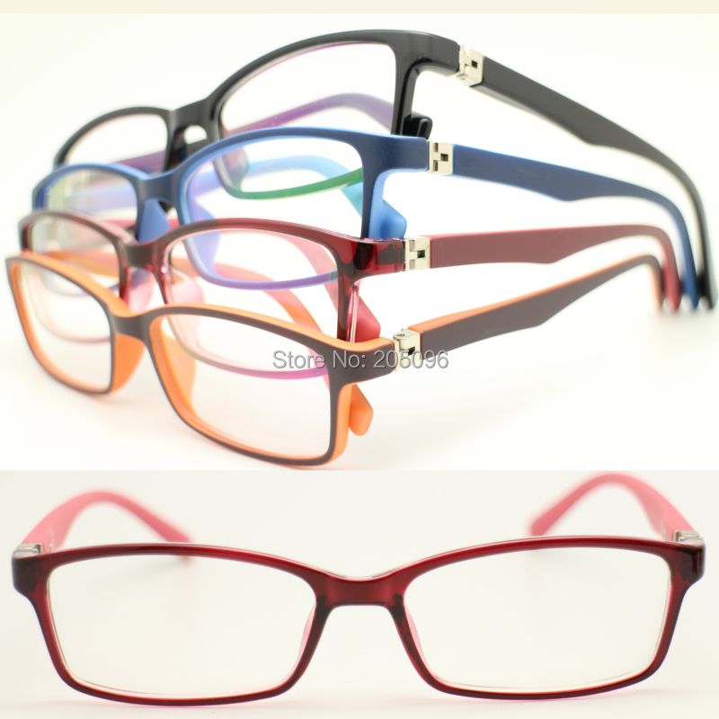 Durable Lightweight Glasses Frames : wholesale 8322 pupil TR90 colorful squre optical full rim ...