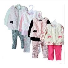 Baby products Girl Rompers Clothing set Kids infant Vest Outerwear leggings Bebe Wear Suits Carters Pajamas