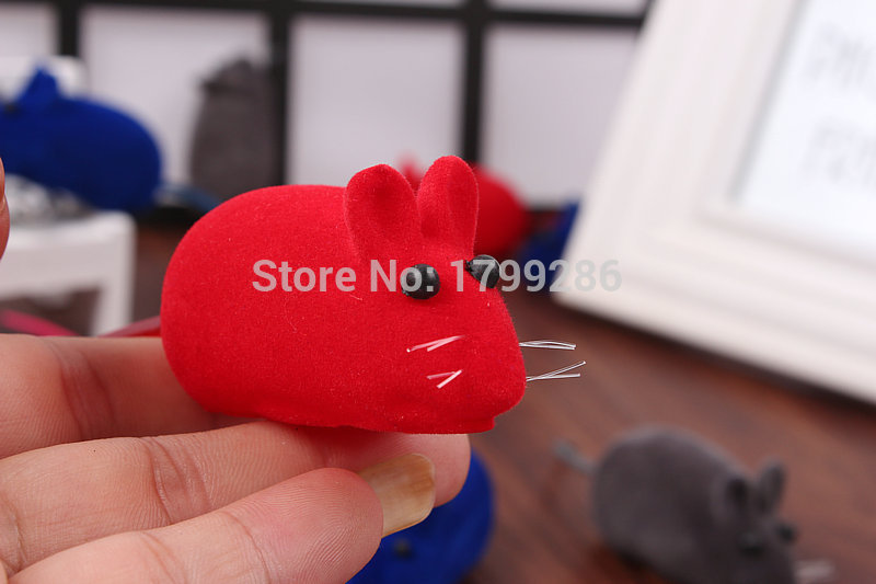 3pcs/set Funny Wind up Pet Toys Mouse Mice Toys for Cats and Dogs Cute Pet Products fat cat toys(China (Mainland))