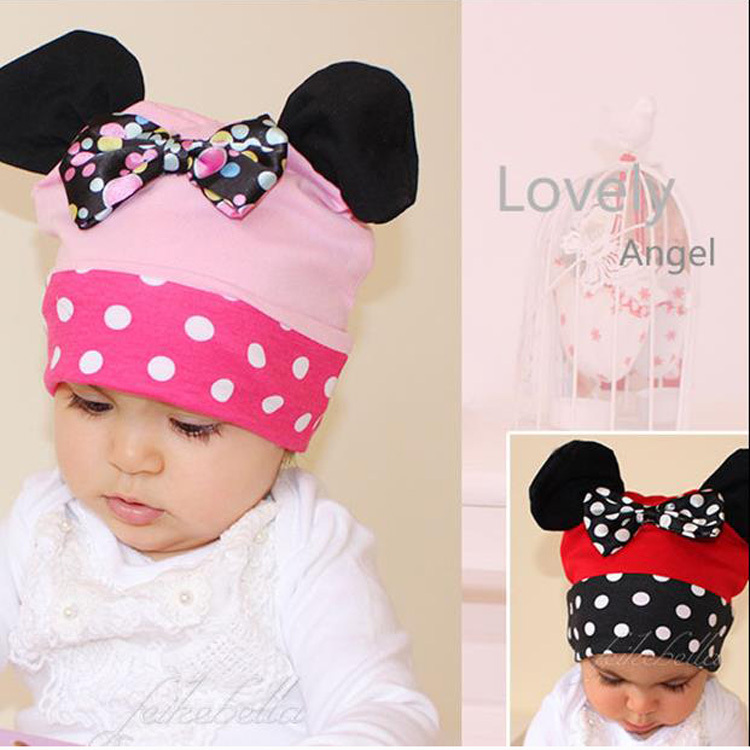 2015 New Arrive Cotton Flower Baby Hat Cute Baby Caps(China (Mainland))