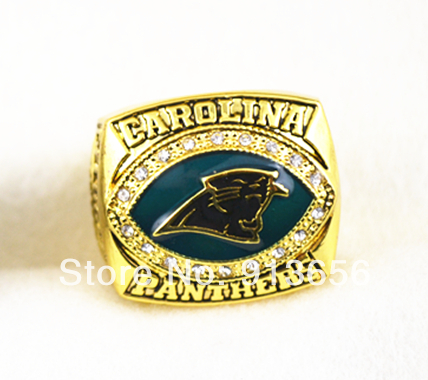 Free shipping! replica 2003 Carolina Panthers NFC Super bowl XXXVIII World Championship Ring as party gift(China (Mainland))