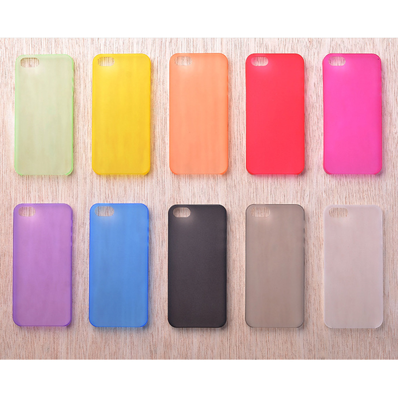 HOT!!! 0.29mm Ultra Thin Matte Case Cover Skin for iPhone 5/5S Translucent Slim Soft Plastic Cellphone Phone Case Free Shipping(China (Mainland))