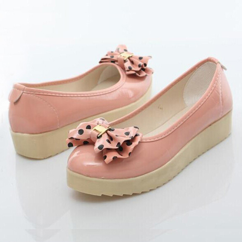 Spring Summer Women's Loafers Fashion Bowknot Women Flat Heel Shoes Boat Cute - Happy hour 100% store