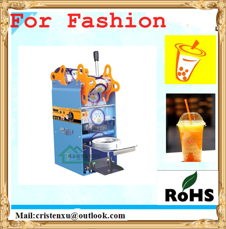 Durable Manual Electric Cup Sealing Machine Sturdy Construction Tool  Free Shipping<br>