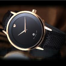Nuevo 2014 marca de lujo relojes hombres deportes de pulsera moda casual, Sapphire eneldo 200 M buceo cuarzo del cuero genuino correa de reloj