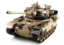 NEW Infrared Remote 1/18 American M60  Battle tank model Toy RC tank military Emission-Sound-Meng Model rc tank