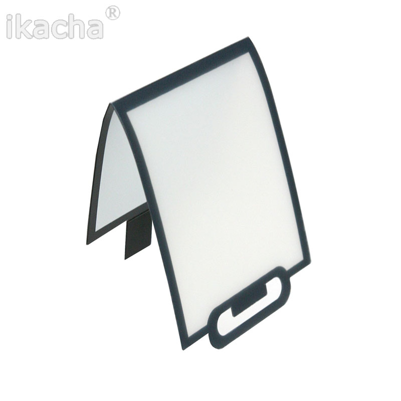 Camera Pop-Up Flash Light Diffuser Soft Box