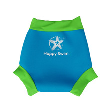 KIDS MINI TIME  Leakproof  Nappy Swim Wear  Kids Reusable Swim Happy Nappy 1mm dry quickly 2colors(China (Mainland))